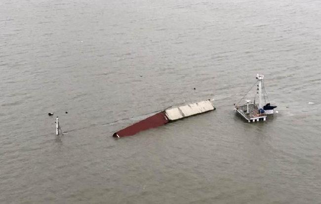 Tầu chở hàng của Alibaba bị chìm