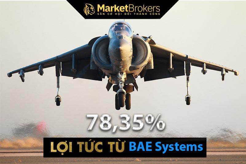 BAE Systems chia cổ tức