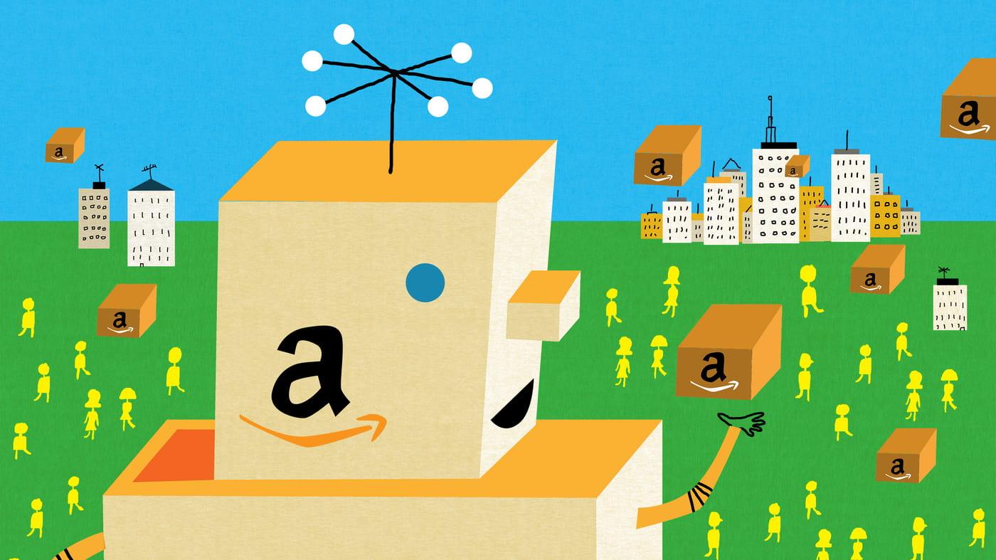 """Amazon: Mọi lĩnh vực kinh doanh đều """"phất"""" trong mùa dịch"""
