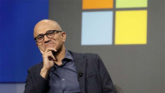 CEO của Microsoft - Satya Nadella.