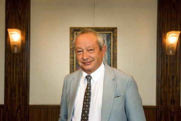 Tỷ phú Ai Cập Naguib Sawiris.