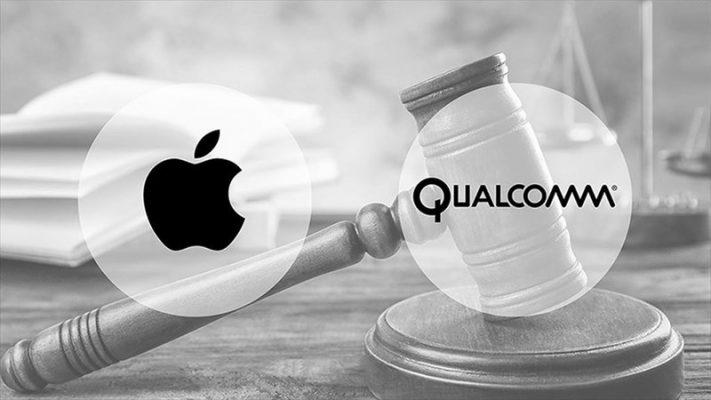 Apple và Qualcomm đã kiện tụng qua lại lẫn nhau vào năm 2018