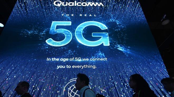 """5G sẽ là """"vũ khí chiến lược"""" giúp Qualcomm giành thắng lợi lớn về doanh thu trong tương lai."""